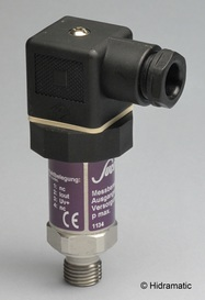 Pressure transmitter SUCO 072025241B001, 4-20 mA, 0-250 bar (0-3620 psi), G1/4-E, DIN