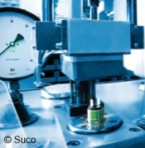 Switching point pressure setting at our works SUCO H000001