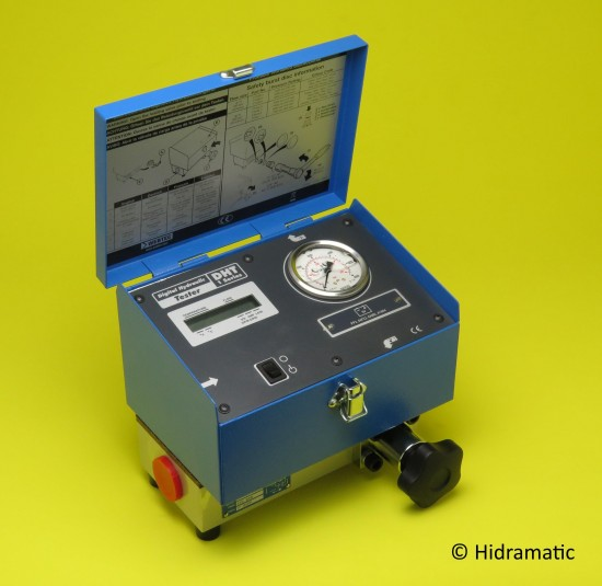 Portable Hydraulic Tester WEBTEC DHT801S7L