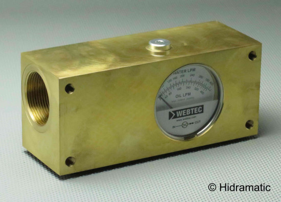 In-line flow indicator WEBTEC FI1500400BBW