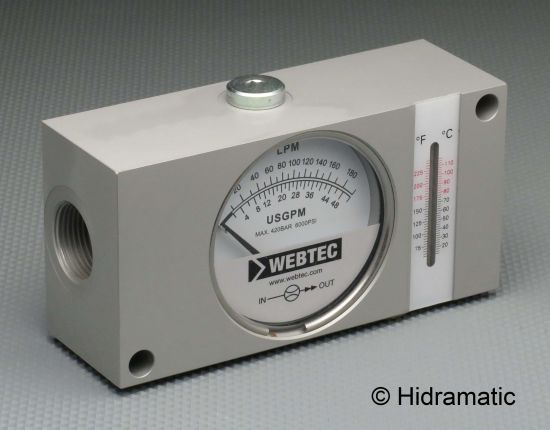 In-line flow indicator WEBTEC FI750180ABOT